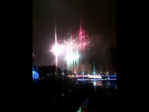 River Bank Fireworks, Luzhu Township