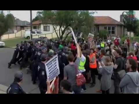 Resistance To Refugee Abuse At Villawood Detention Centre Sydney