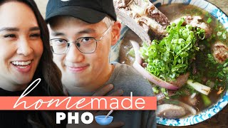 Pro Chef Vs. Mom's Homemade Pho • Homemade