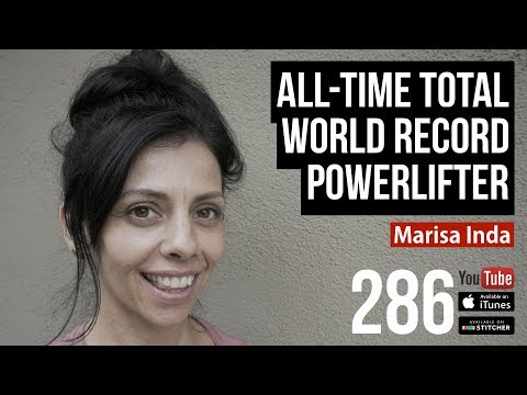 AllTime Total World Record Powerlifter Marisa Inda  286