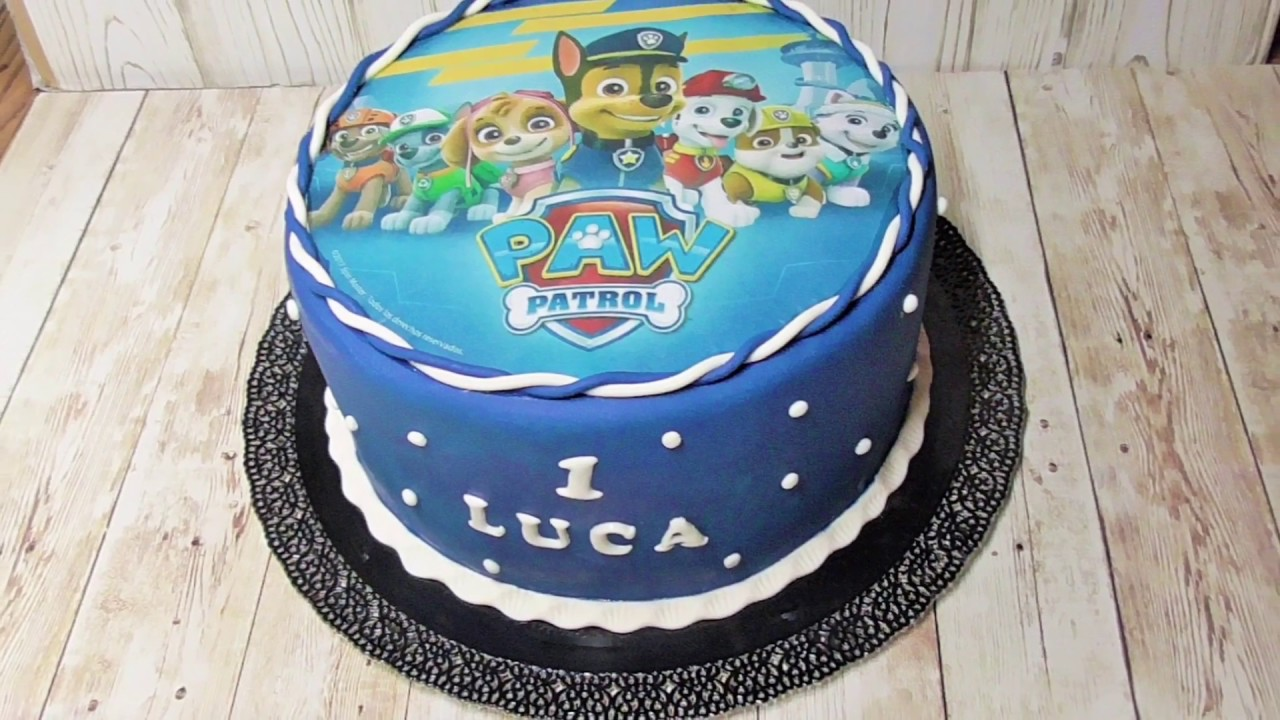 Paw Patrol Torte Youtube