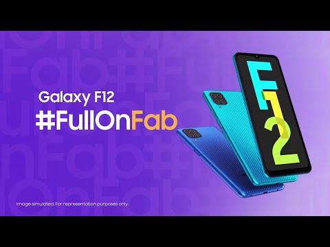 Samsung Galaxy F12 | #FullOnFab Life