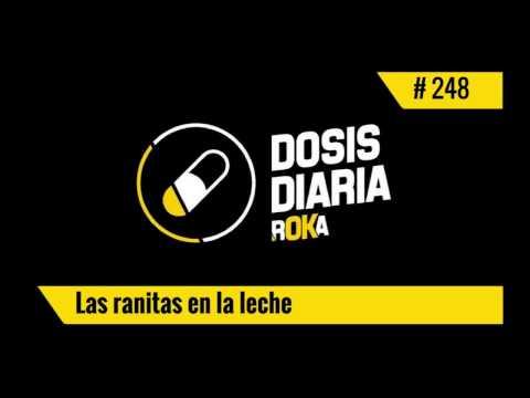 DOSIS DIARIA ROKA / Las Ranitas en la Leche