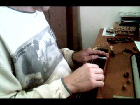 Crazy - By Willie Nelson (v. Patsy Cline) in my homemade Lap Steel Guitar