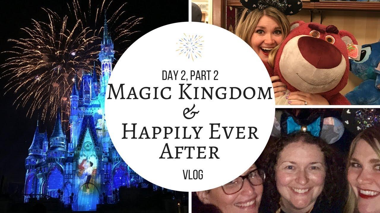 Disney World Vlog   January 2018   Day 2, Part 2 Magic Kingdom ...
