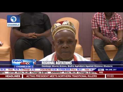 Osinbajo Warns Arewa, Biafra Agitators Against Divisive Rhetoric