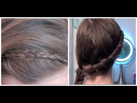 5 Easy Everyday Hairstyles For Beginners Youtube