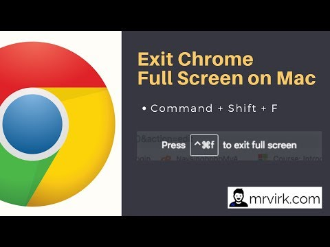 How Exit Full Screen In Google Chrome – The Right Way