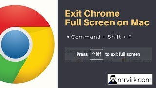How to enable full screen mode on google chrome videos