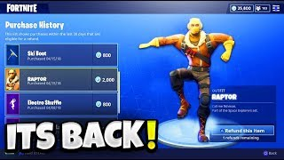 REFUND System COMING BACK JUNE 1ST! How To REFUND skins in Fortnite Battle Royale!