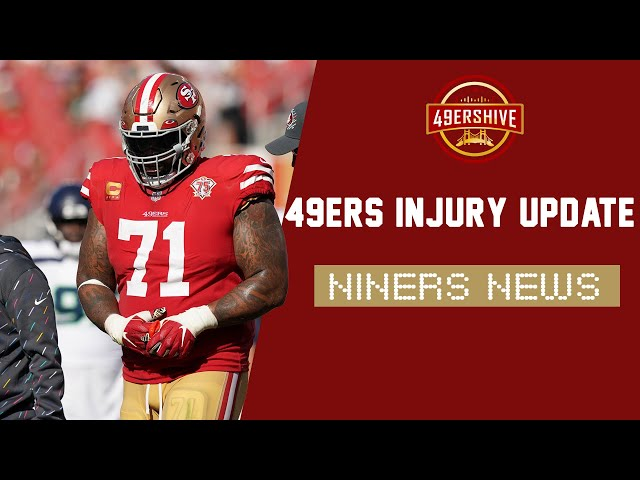 Niners News: 49ers Injury Update