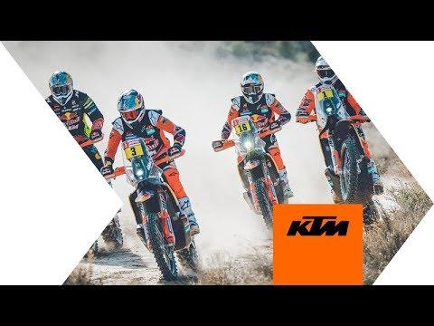 The Red Bull KTM Factory Racing 2020 Dakar Rally Team | KTM