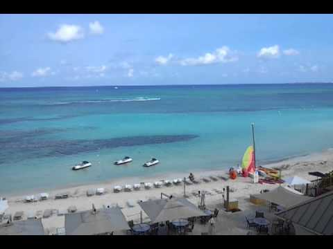 GRAND CAYMAN VIEW FROM MARRIOTT 4TH FLOOR (PART 1)