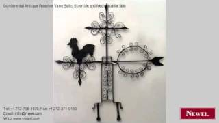 Continental Antique Weather Vane Baltic Scientific And
