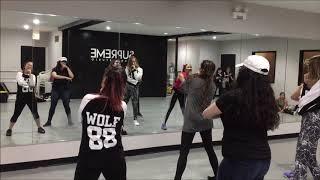 BTS IDOL Sunday WKPOP dance class part 1 Group 2