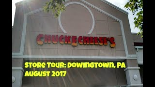 Store Tour: Downingtown, PA Chuck E. Cheese's August 2017