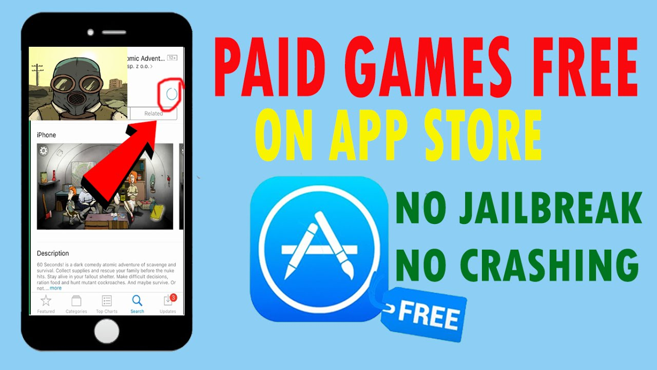 Get Paid Apps Games Free On Ios 10 3 2 11 No Jailbreak