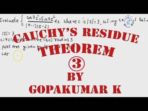 Cauchy's Residue Theorem  Part-3 (Engineering Maths KTU,Kerala ,Anna University)