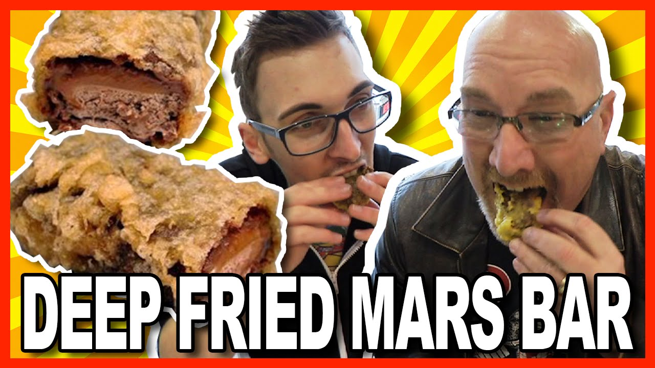 ♥ Deep Fried Mars Bar ♥ with Paul from Where's My Challenge