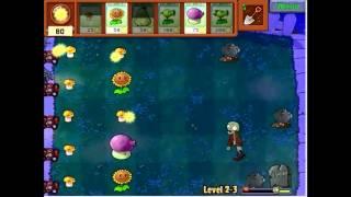 Plants vs Zombies LEVEL 2- 3 PC GAMEPLAY