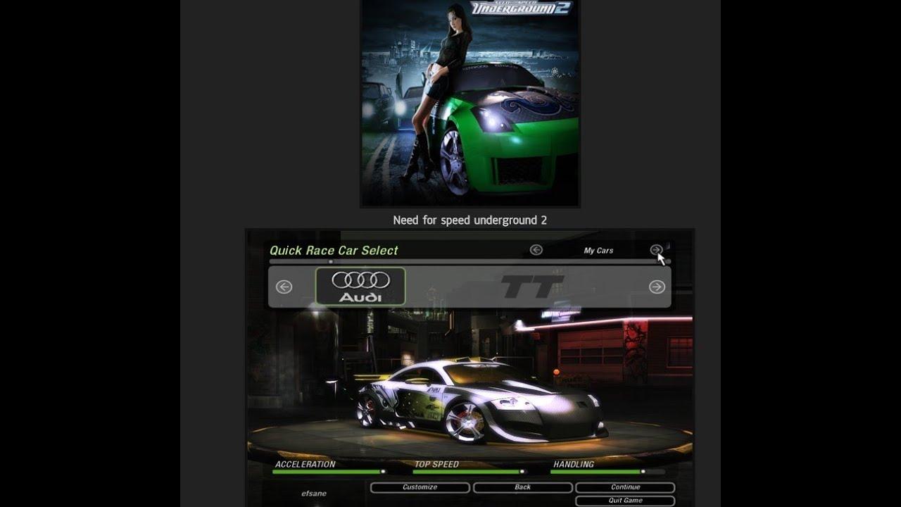 Need for speed underground 2 100 save youtube.