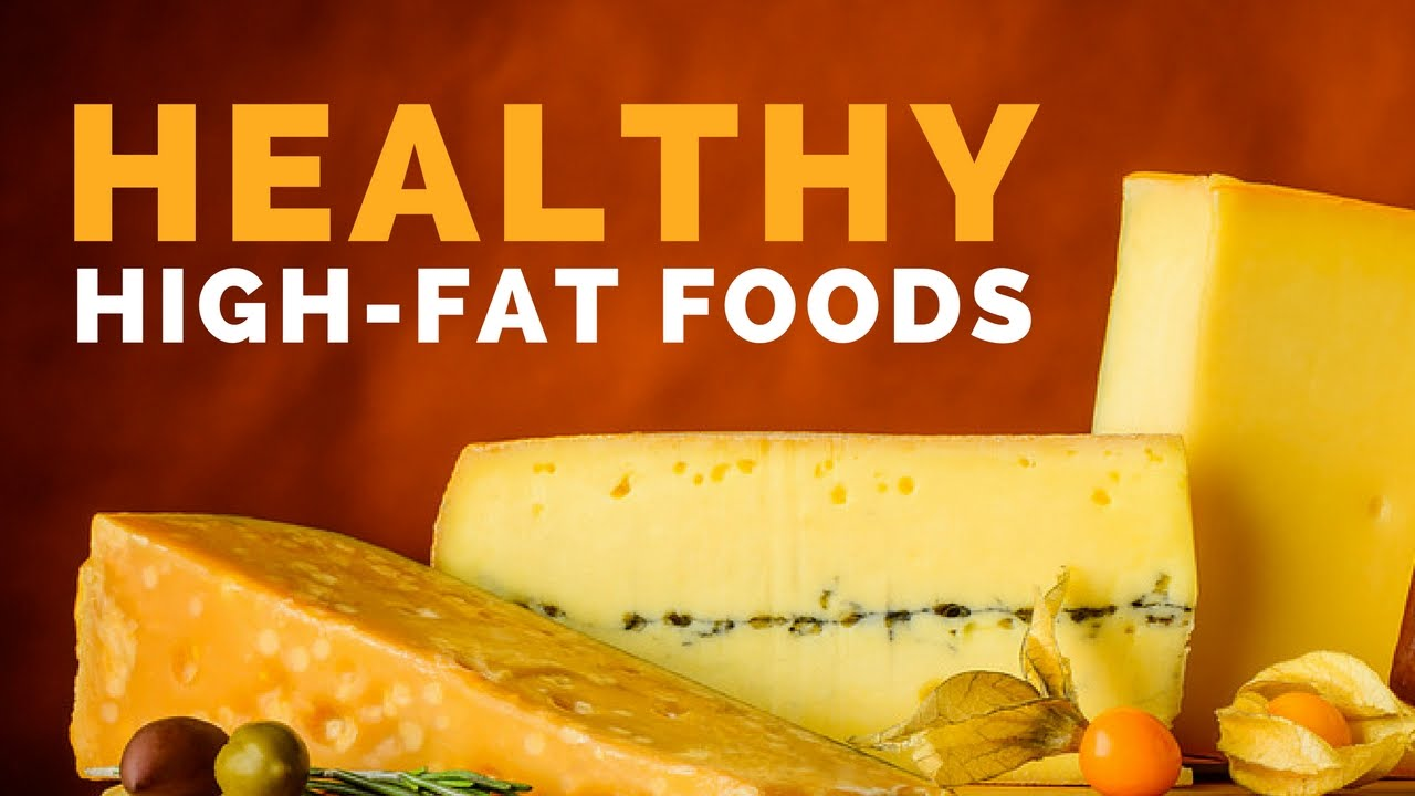 5 High-Fat Foods That Are Actually Super Healthy - YouTube