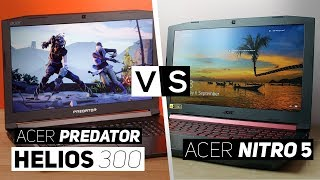Acer Predator Helios 300 VS Acer Nitro 5! - Best Gaming Laptop For The Price?