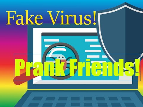 HOW TO CREATE A FAKE VIRUS😝 l LINK IN DESCRIPTION l PRANK YOUR FRIENDS!