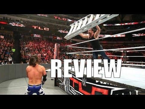 WWE TLC (Tables Ladders Chairs) 2016 full show review, results, and highlights