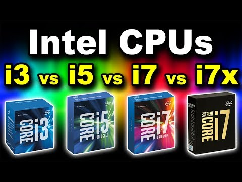 Intel Core i3 vs i5 vs i7 vs i7e Explained | Main Stream Vs Enthusiast (Workstation) CPUs (Hindi)