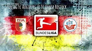 24.2.17 Fc Augsburg vs Fc Hansa Rostock