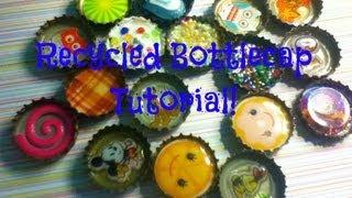 Recycled Bottlecap Tutorial!