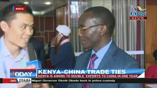 Kenya aiming to double exports to China in one year