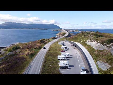 Die Atlantikstraße in Norwegen