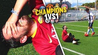 ¿!!AGRESIÓN!!? CHAMPIONS 1vs1 JORNADA 6 ¡Reto Fútbol! [Crazy Crew]