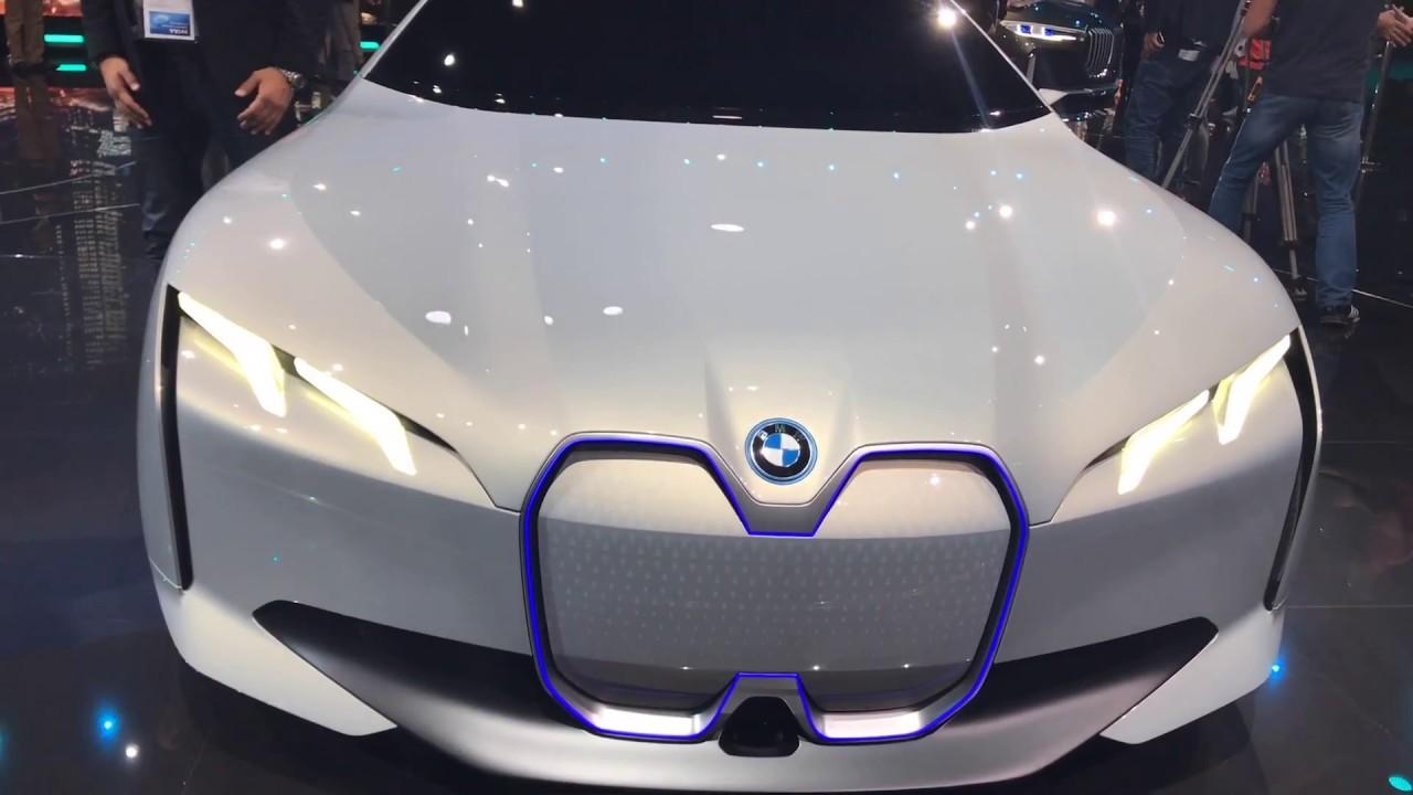 Bmw I Vision Concept Frankfurt Auto Show 2017