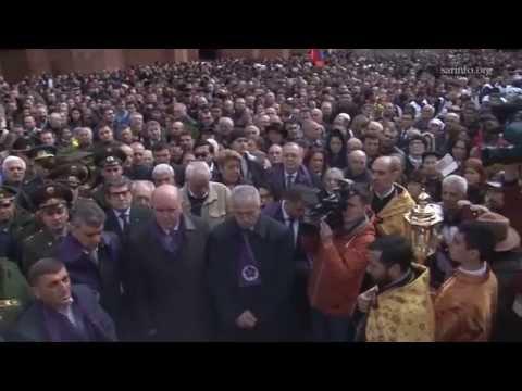 24 апреля 2015. Москва. День Геноцида армян.