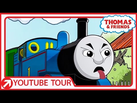 Thomas Makes Scary Faces in New Zealand | YouTube World Tour
