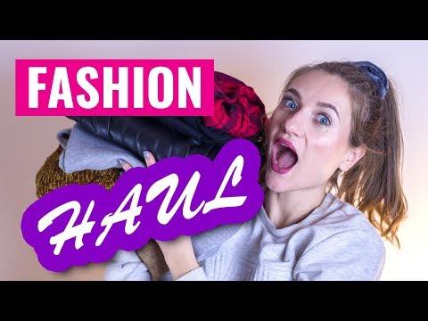 Fashion Haul + Try on (Stradivarius, H&M, Bershka..)