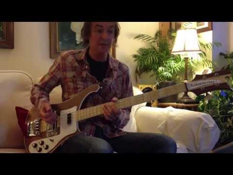 Rickenbacker 4003W bass demo