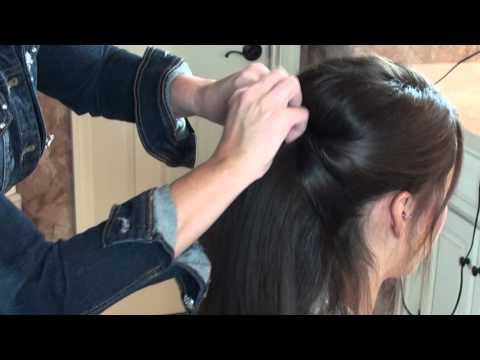 Gillian Ortega's Power Look at GillianOrtegaOnline.Com - Her UpDo Hair Tutorial