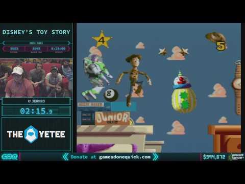 Disney's Toy Story by JermRo in 22:17