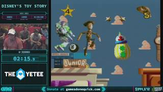 Disney's Toy Story by JermRo in 22:17 - AGDQ 2018 - Part 61