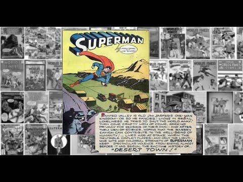 """Superman: """"Desert Town"""", Worlds Finest Comics #14"""