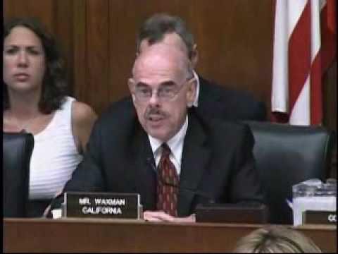 Chairman Waxman Questions BP CEO Tony Hayward