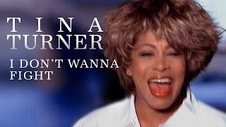Tina Turner - I Don't Wanna Fight (Official Music Video)
