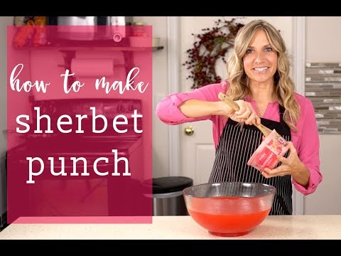 How To Make SHERBET PUNCH {Easy Drink Recipe}
