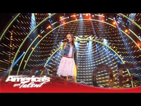 """Chloe Channell - Singer Wows With The Band Perry's """"Done"""" Cover-America'sGot Talent 2013"""