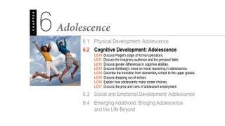 1100 06.2 - Adolescence - Cognitive Development