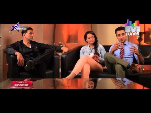 Akshay Kumar, Sonakshi Sinha and Imran Khan talk about Once Upon ay Time in Mumbai Dobaara
